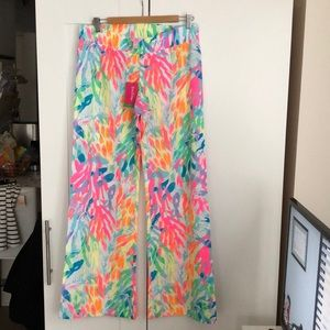 """NWT LILLY PULITZER 33"""" BAL HARBOUR PALAZZO PANT"""